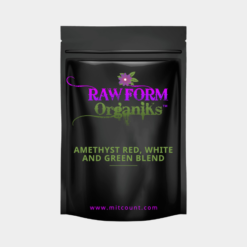 Amethyst Red White and Green Blend