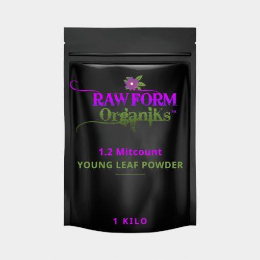 Young Leaf Powder 1.2 Mitcount Kilo
